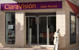 ópticas claravisión Murcia Archena fachada