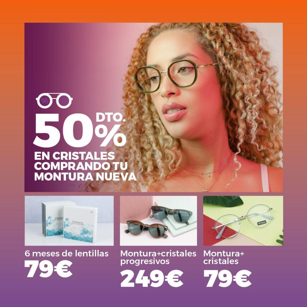 Ofertas óptica ClaraVisión Campello